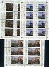 5749 - RUSSIA 1987 - October Revolution, 70th Anniversary - MNH Small Sheet
