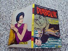 DIABOLIK ANNO X ORIGINALE N.3 DEL 1971 BELLO TIPO KRIMINAL SATANIK KILLING