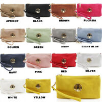 Fashion Womens Ladies Girls Mini Cross Body Bag Wrist Strap Multi Pockets Coin P