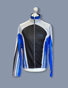 Giordana Wind Tex Mens Zip Up Cycling Top-Zip Pocket On The Back-Size Large