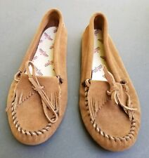 Minnetonka Moccasins Womens Size 11 Suede Slippers