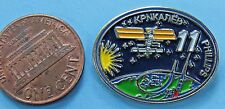 NASA PIN vintage INTERNATIONAL SPACE STATION ISS Expedition 11 - Phillips