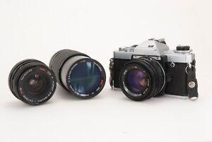 Vintage Porst CR-5 Computer Film Camera with 3x Porst Lenses (GW)