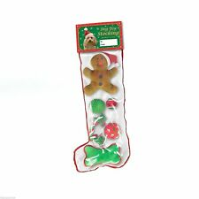 6 Piece Multi Pack Dog Puppy Filled Christmas Stocking Great Holiday Gift