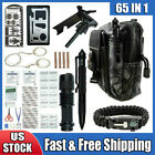 65 in 1 Survival Outdoor Kits Military Tactical EDC Emergency Gear Camping Tools