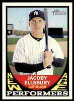 2016 TOPPS HERITAGE NEW AGE PERFORMERS JACOBY ELLSBURY YANKEES #NAP-JE INSERT