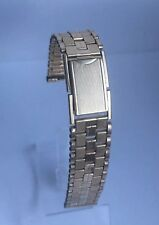 VINTAGE MONTAL GOLD PLATED STAINLESS STEEL WRISTWATCH  BRACELET 16mm ENDS