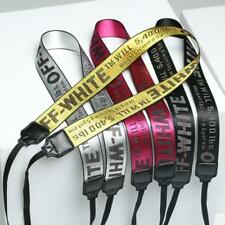 Off White Letter Print Camera Neck Shoulder Strap Belt for Camera 5Color Pop