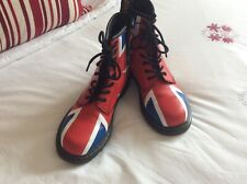 Dr. Martens Delaney Union Jack Classic, Girls Ladies Boots size 5 - Preloved