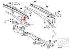 Genuine BMW ROLLS-ROYCE Alpina Installation Element For Wiper Arm 61618226059