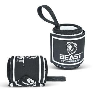 Beastpowergear Wrist Wraps  Competition Grade 18 Inch Professional Quality.