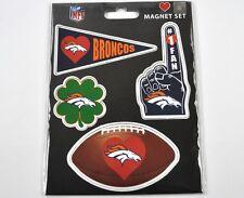 NFL DENVER BRONCOS FOOTBALL AMERICANO USA MAGNETE MAGNETI Set