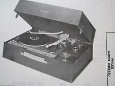 PHILCO Q1464BU PHONOGRAPH RECORD PLAYER PHOTOFACT