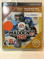 Madden NFL 25 playstation 3  walmart edition