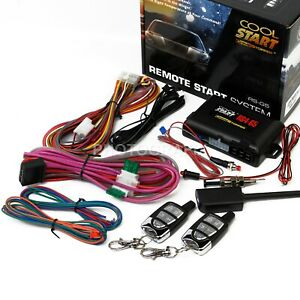 Crimestopper RS4-G5 1-Way Remote Start & Keyless Entry System with Trunk Release