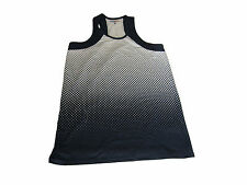 Genuine Tommy Hilfiger sports vest top navy polkadot Womens size Small S