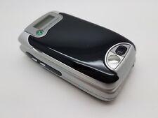 En Muy Buena Condición Desbloqueado Sony Ericsson Z600-Plateado/negro teléfono móvil