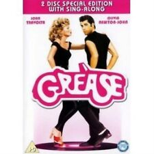 GREASE - 2-Disc Special Edition with Sing-long Brand New Sealed UK Region 2 DVD