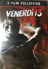 Freitag der 13. Teil 2 3 4 5 6  UNCUT 5 DISC DVD Box Deutscher Ton  NEU OVP