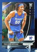 2020-21 Prizm Draft Picks Precious Achiuwa RC Base Rookie #48 Memphis Tigers