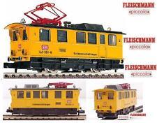 FLEISCHMANN 7968 ELECTRIC LOCOMOTIVE BR740 CLEANER RAILS PULITORE BINARI SCALA-N