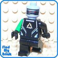 SW421 Lego Custom Alien Arctic Android Minifigure-  NEW