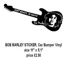 BOB MARLEY STICKER. Car Bumper Vinyl