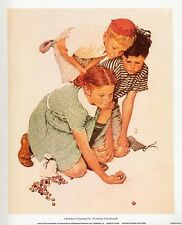Norman Rockwell Saturday Evening Post MARBLES CHAMP