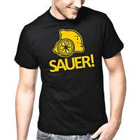 Sauer Zitrone Zitronen Sprüche Geschenk Lustig Spaß Comedy Fun Spruch T-Shirt