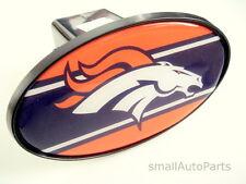 """DENVER BRONCOS NFL TOW HITCH COVER car/truck/suv trailer 2"""" receiver plug cap"""