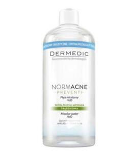 Dermedic NormAcne Preventi,micellar water,oily, sensitive/combination skin,500ml