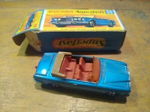 Matchbox Superfast No69 Rolls Royce Silver Shadow - VGC Boxed