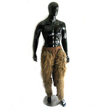 Brown Hairy Pants Deer Fawn Legs Furry Adult Animal Halloween Costume