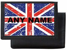 Personalised UNION JACK Wallet/Purse *Black/Blue/Pink/Red* Mayzie Designs®