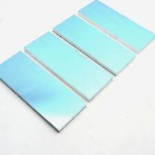 "New listing .375"" thick 3/8 Precision Cast Aluminum Plate 3.5""x 10.5"" Long Qty 4 sku175707"