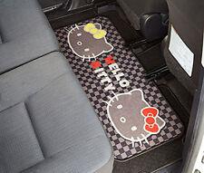 SANRIO HELLO KITTY Car Accessory Rear Long Floor Mat for Flat Floor Japan F/S