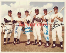 Roger Maris Mickey Mantle & 1961 NY Yankees Signed 8x10 Photo Reprint