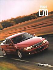 VOLVO C70 COUPE MAY 1999 SALES BROCHURE