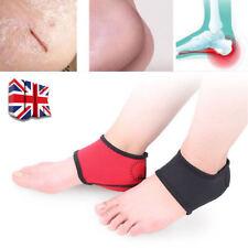 Pair of Plantar Fasciitis Heel Spurs Pads Pain Relief Neoprene Wrap Heel Socks