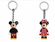 LEGO Minnie & Mickey Mouse 🐭 Key Chain - Keyring 853999 -New  -FREE UK 🇬🇧 P&P