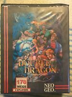 Neo Geo AES Double Dragon Euro Version Complete. Authentic SNK Original