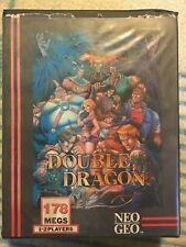 Neo Geo AES Double Dragon Euro Version Complete. Authentic SNK Original
