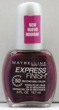 Maybelline Express Finish Nail Polish - Grape Times 896