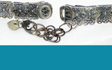 Russian Caucasian belt of 84 (87.5%) niello silver 1893y