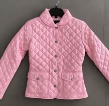 Ralph Lauren Girls Quilted Pink Jacket Size L(12-14)