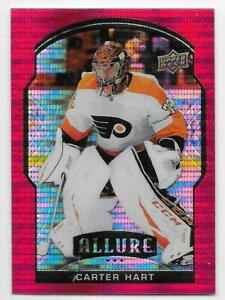 20/21 UPPER RECK UD ALLURE HOCKEY BASE RED DIAMOND CARDS 1-70 U-Pick From List