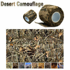 New 5CMx4.5M Hunting Camping Hiking Desert Camouflage Stealth Tape Waterproof