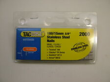 F16 2500 box Tacwise 16G//30mm Straight Brad Finish Nails
