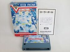 Msx Rollerball Bille Import Japon Video Game 1269 Msx