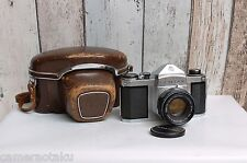 ASAHI PENTAX S1 SLR camera + Auto-Takumar 1:2.2/55 lens Full Mechanical camera!